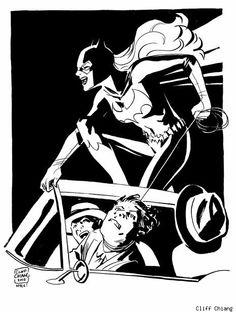 Batgirl by Cliff Chiang Superhero Villains, Female Superhero, Dc Comics, Batman And Batgirl, Batman Family, Picture Story, Batwoman, American Comics, Dc Heroes