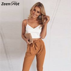 26c4dad30a4 Summer Women Rompers Fashion Bodycon White top Two Piece Jumpsuit Sexy  Rompers Womens Jumpsuit macacao feminino