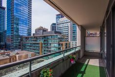 18 Yorkville Ave Unit 606 Toronto Condos West Facing Balcony Overlooking Four Seasons Hotel Victoria Boscariol Chestnut Park Real Estate