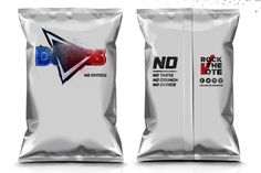 Doritos ties promotion to election — The Dieline - Branding & Packaging Design Rock The Vote, Innovation News, Doritos, Brand Packaging, Food Design, Package Design, Promotion, Branding Design, Ties