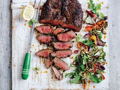 Roasted Capsicum Bolar Blade Roast #Woolworths #JamieOliver #recipe #capsicum #roast http://www2.woolworthsonline.com.au/Shop/Seasonal/Jamie-Oliver-Created-With-Jamie