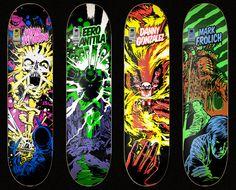 Comic serie 1  Jart Skateboards 2009  TheSentinelAtWork.com