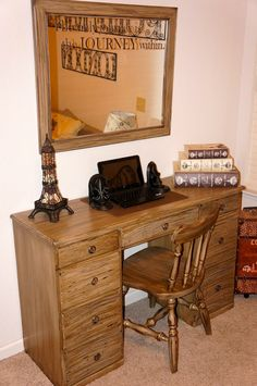 Desk Set refurbished....at Pine Creek Style