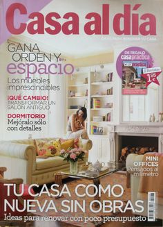 here we grow again...our interior design renovation Capricho real in madrid is making headlines...& lala becomes a star!!designed by us @ nikohl cadeau interiors
