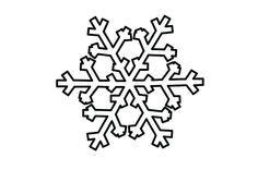 Printable Snowflake Coloring Pages, from Nature Coloring Pages category. Find out more coloring sheets here. Elementary School Counselor, School Counseling, Elementary Schools, Counseling Activities, Church Activities, Snowflake Outline, Snowflakes Art, Snowflake Images, Snowflake Coloring Pages