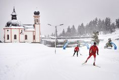 Today 24.10.14 you can use a 2,5 km cross-country trail in Seefeld! (as long as the weather situation allow) Copyright Olympiaregion Seefeld