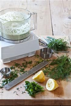 Barefoot Contessa - Recipes - Fresh Dill Sauce