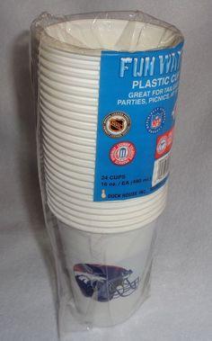 Denver Broncos 24 plastic cups 98784f18d