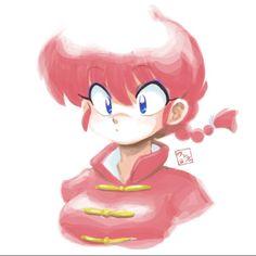 Ranma Manga Drawing, Manga Art, Manga Anime, Anime Art, Kawaii Girl, Kawaii Anime, Inuyasha, Comic Art Girls, Demon Wolf