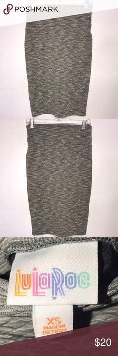 LuLaroe Quilted Gray Cassie Pencil Skirt XS LuLaroe Quilted Gray Cassie Pencil Skirt XS LuLaRoe Skirts Pencil