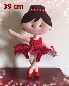 Bailarina com molde