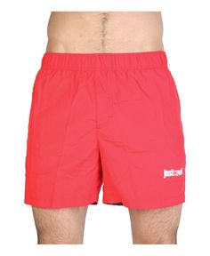 Just cavalli beachwear - costume lungo - 100% nylon - lavare a 30° - Costume uomo Rosso
