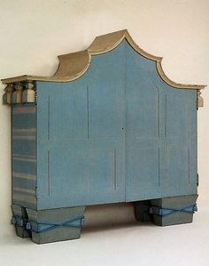 Dagober Peche - His furniture designs were often purposefully distorted and embellished with functionless decorations in order to communicate an organic, natural feeling to them.
