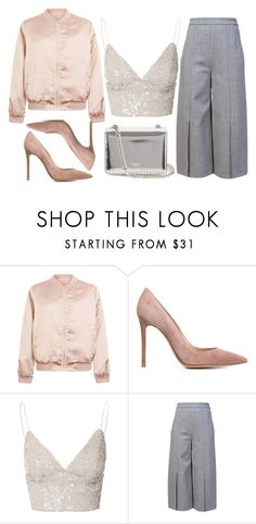 """""""fridays are to be spent with people you love"""" by redapplecigarettes ❤ liked on Polyvore featuring Cameo Rose, Gianvito Rossi, Glamorous, Proenza Schouler and Rochas"""