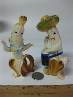 Enesco Banana People Salt & Pepper Shakers Visit cgi.ebay.com