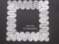Encajeras la Hilandera: TECNICAS Hinojosa tape lace (braid lace)