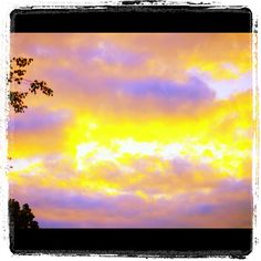 Morning clouds. Beautiful sunrise reflection. Photos July 14, 2012 at 04:52PM