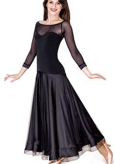 DSI Serena Ballroom Dance Dress 3201   Dancesport Fashion @ DanceShopper.com