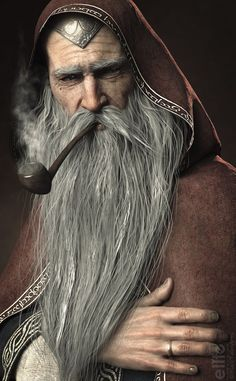 """""""The Wise Wizard"""" by BlackTalonArts (Mel) Inspiration for Shades of Evenfall, dark vampire fantasy by LD Bloodworth. High Fantasy, Fantasy Rpg, Medieval Fantasy, Fantasy World, Fantasy Series, Fantasy Artwork, Fantasy Portraits, Dnd Characters, Fantasy Characters"""