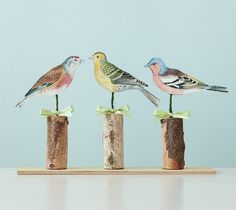 Printable bird decor by Anna Griffin. Make It Now in Cricut Design Space with the Cricut Explore machine and Print then Cut feature.