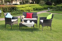 This brand-new Eton range is everything you'll need for your garden. Rattan Garden Furniture, Outdoor Furniture Sets, Outdoor Decor, Conservatory Sofa, Brown Sofa, Sofa Set, Dining Set, Home Decor, Products