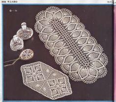 5 patrones de carpetas crochet