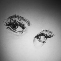 Eyes sketch (I did not draw this one) Beautiful Pencil Drawings, Amazing Drawings, Amazing Art, Illustration Sketches, Art Sketches, Kristina Webb Drawings, Ouvrages D'art, Ap Drawing, Eye Sketch