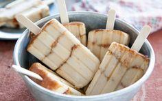 Creamy Banana and Brown Sugar Pops