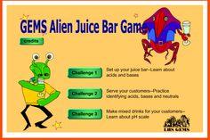 Alien Juics Bar - pH Activity