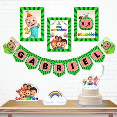 2nd Birthday Party Themes, Birthday Cards, Paw Patrol Birthday Card, Kids Rugs, Holiday Decor, Alice, Party Ideas, 1st Birthday Parties, Anniversary Banner