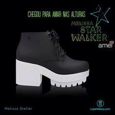 MELISSEIRAS  Chegou muitas novidades da @melissaoficial ❤️ @loja_amei cheirando a MELISSA  #lojaamei #Melissa #bota #starwalker