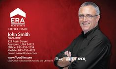 Red ERA Real Estate Business Card