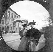 Karl Johan Street Oslo, 1890s - street photography by Størmer