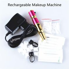 Eyebrow Rechargeable Permanent Makeup Pen+Power Supply Tattoo Machine Kit Cheap Price Meicha Permanent Makeup Permanent Cosmetic From Bawanbian, $100.15| Dhgate.Com
