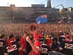 Wow!!!! @gem_Eindhoven bedankt voor een onvergetelijke ervaring!!! #landskampioen #plattekar @psv