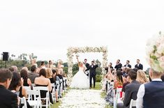 Genese and Paul's Blush Beachside Wedding