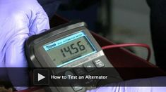 DIY video: How to Test an Alternator. If you have a newer battery but your car won't start, this DIY test will help you determine if a bad alternator is the cause of the problem.