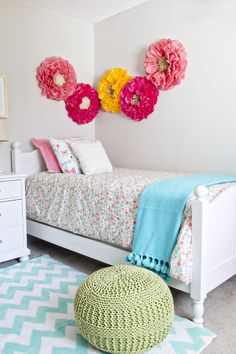 Pretty Little Girlu0027s Bedroom Makeover
