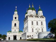 File:Astrakhan Uspenskii sobor of kreml. Monuments, Bataille De Stalingrad, Places Around The World, Around The Worlds, Place Rouge, Christian World, Russian Architecture, The Rite, Place Of Worship
