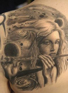Tattoo by Andy Engel Piercing Studio, Tattoo Art, Ink, Portrait, Tattoos, Tatuajes, Headshot Photography, Tattoo, Portrait Paintings
