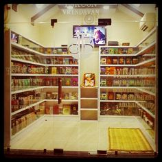 Library at Iskon temple