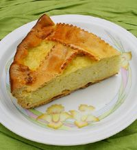 ricotta and rice Italian Easter pie