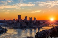 Pittsburgh Sunrise by John Martinec on 500px
