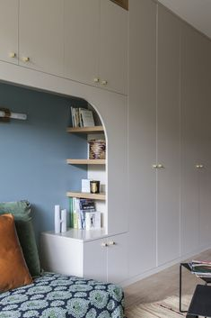 Discover recipes, home ideas, style inspiration and other ideas to try. Small Spaces, Home, Modern Bedroom Design, Home Bedroom, Small Apartment Bedrooms, House Interior, Modern Bedroom, Studio Space, Interior Design
