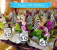 Party Themes For Men Father Dad Birthday 61 Trendy Ideas 60th Birthday Ideas For Mom Party, 60th Birthday Theme, Birthday Decorations For Men, Dad Birthday, 60th Birthday Presents, 60th Birthday Party Invitations, Birthday Brunch, Birthday Stuff, Unicorn Birthday