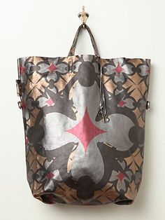 Free People Aven Leather Tote