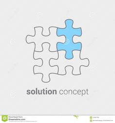 Puzzle With Colored Part As Symbol That In Any Case It Important Find A Solution. Concept Of Integration Leading To Stock Vector - Illustration of idea, design: 124867783 Integrity, Contour, Puzzle, Symbols, Concept, Illustration, Design, Contouring, Puzzles