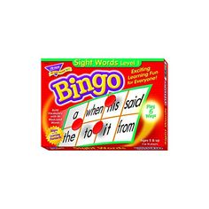 Trend Young Learner Bingo Game, Sightwords (T6064)