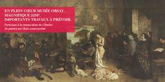 Participez à la restauration de L'Atelier du peintre, chef-d'œuvre de H 3.61 m x L 5.98 m (22m²) de Gustave Courbet au Musée d'Orsay - Ulule  http://fr.ulule.com/courbet/