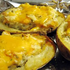 """Stuffed Potatoes 
